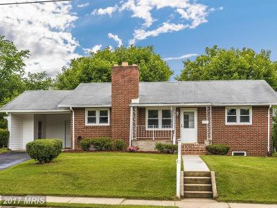 Frederick Single Family Home For Sale: 326 Redwood Avenue