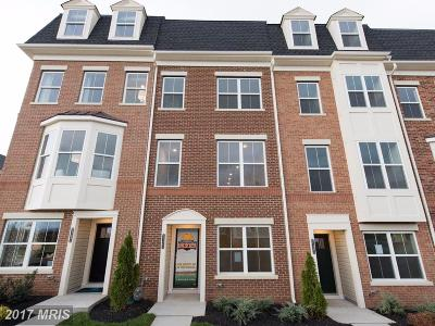 Frederick Townhouse For Sale: 7123 Judicial Mews