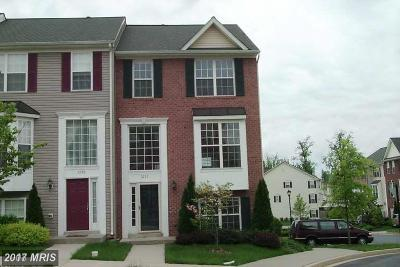 Frederick Townhouse For Sale: 3727 Singleton Terrace