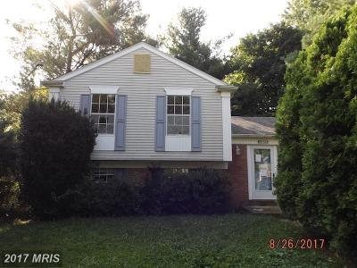 Frederick MD Single Family Home For Sale: $194,900