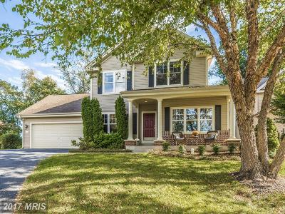 New Market Single Family Home For Sale: 11863 Hart Glen Court