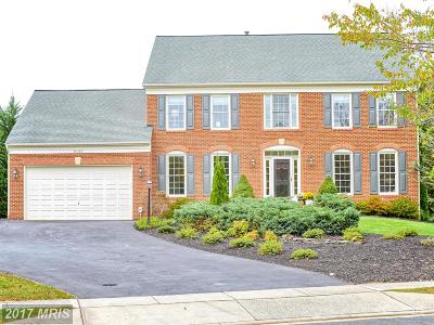 Frederick Single Family Home For Sale: 9131 Travener Circle
