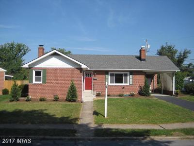Frederick Single Family Home For Sale: 403 Delaware Road