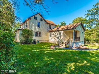 Frederick Single Family Home For Sale: 2804 Park Mills Road