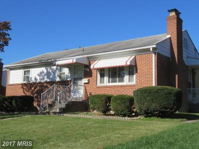 Frederick Single Family Home For Sale: 1205 Staley Avenue