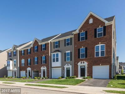 Ijamsville Townhouse For Sale: 5806 Rochefort Street