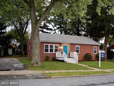 Frederick Single Family Home For Sale: 614 Biggs Avenue