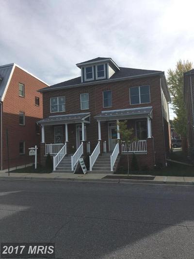 Frederick Duplex For Sale: 632 Bentz Street