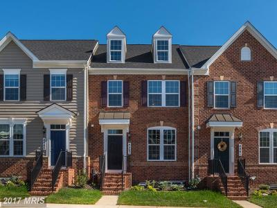 Frederick Townhouse For Sale: 4805 Eugene Way
