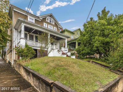 Frederick Single Family Home For Sale: 533 Potomac Street W
