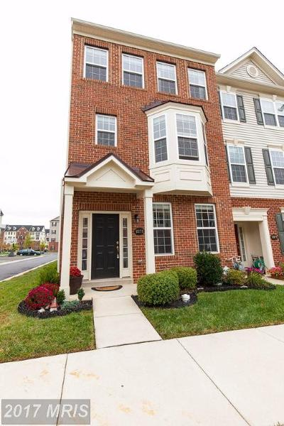 Frederick Townhouse For Sale: 6379 Betty Linton Lane