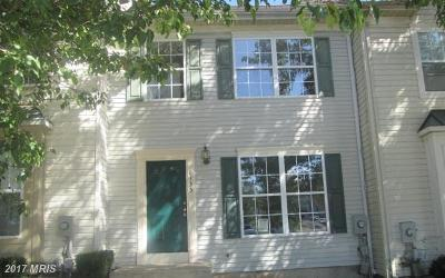 Frederick Townhouse For Sale: 6135 Baldridge Circle
