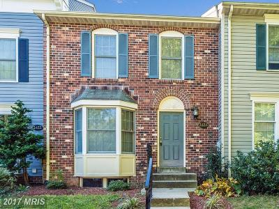 Frederick Townhouse For Sale: 2424 Prentice Court