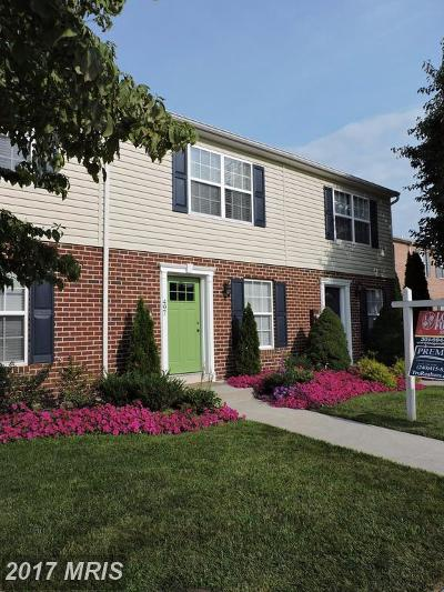 Frederick Townhouse For Sale: 495 Arwell Court