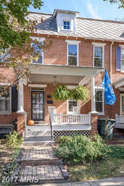 Frederick Duplex For Sale: 720 Trail Avenue