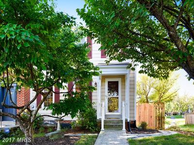 Frederick Townhouse For Sale: 8226 Red Wing Court