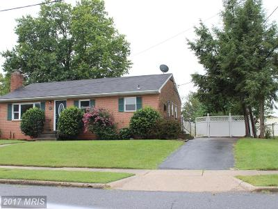 Walkersville Single Family Home For Sale: 72 Sherwood Drive