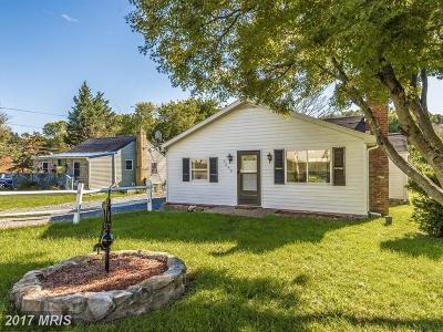 Frederick MD Single Family Home For Sale: $239,000