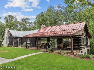 Single Family Home For Sale: 10619 Harney Road