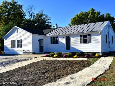 Thurmont Single Family Home For Sale: 7512 Franklinville Road