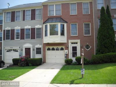 Frederick Townhouse For Sale: 5205 Bamburg Court