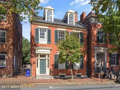 Frederick Townhouse For Sale: 107 2nd Street W