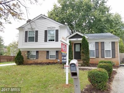 Frederick Single Family Home For Sale: 113 Apple Creek Road