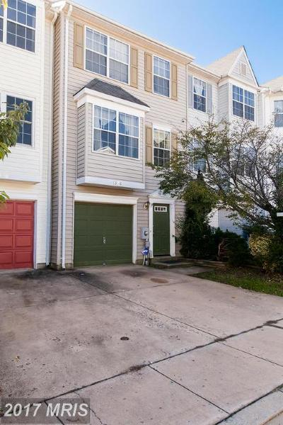 Frederick MD Townhouse For Sale: $140,000