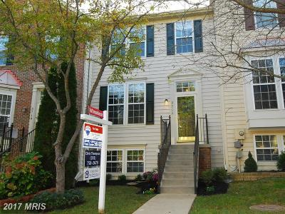Frederick Townhouse For Sale: 3717 Hope Commons Circle