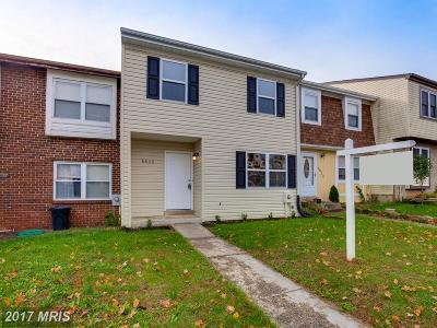 Walkersville Townhouse For Sale: 8825 Whimsey Court