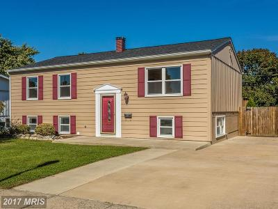 Frederick MD Single Family Home For Sale: $245,000