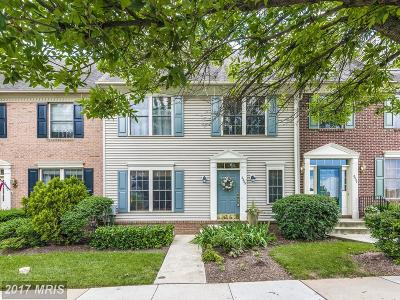 Frederick Townhouse For Sale: 2535 Waterside Drive