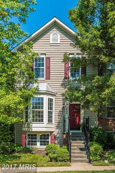 Frederick Townhouse For Sale: 3600 Hope Commons Court