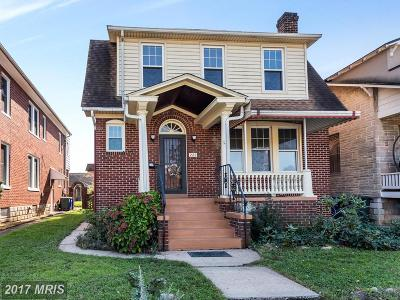 Frederick Single Family Home For Sale: 222 Carroll Parkway