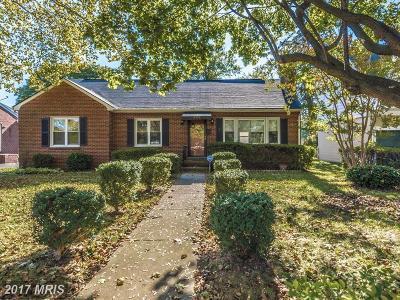 Frederick Single Family Home For Sale: 626 Apple Avenue