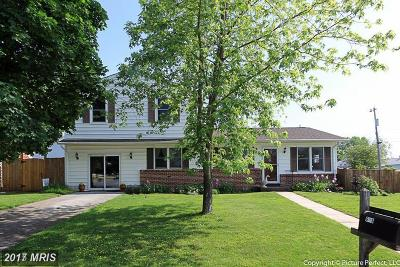 Thurmont Single Family Home For Sale: 603 Woodland Avenue