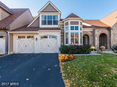 Frederick Townhouse For Sale: 3012 Old Annapolis Trail