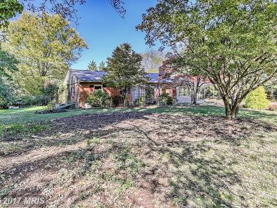 Ijamsville Single Family Home For Sale: 5114 Mussetter Road