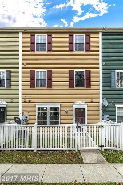 Thurmont Townhouse For Sale: 124 Altamont Avenue N