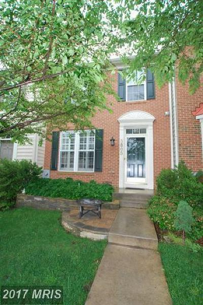New Market Townhouse For Sale: 5805 Whiterose Way