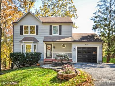 New Market Single Family Home For Sale: 6801 Lakepoint Overlook
