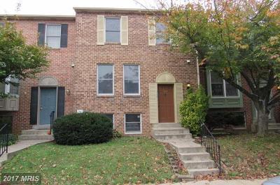Walkersville Townhouse For Sale: 103 Adams Way