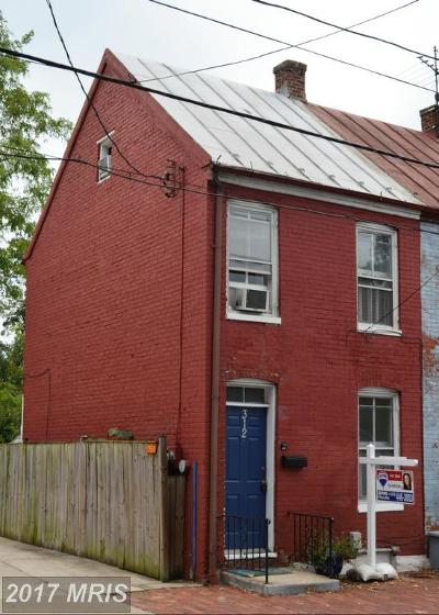 Frederick Duplex For Sale: 312 Bentz Street N