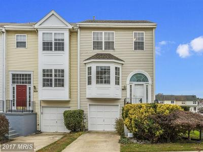 Frederick Townhouse For Sale: 5612 Ashburn Terrace