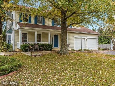 New Market Single Family Home For Sale: 10714 Grangerford Court