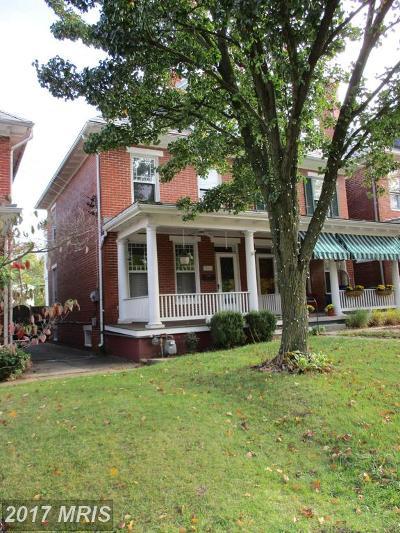 Frederick Duplex For Sale: 806 Market Street