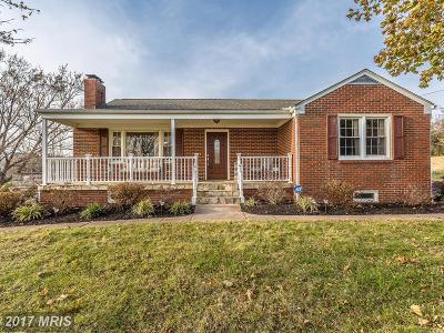 Frederick Single Family Home For Sale: 5632 Jefferson Pike
