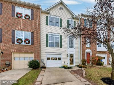 Frederick MD Townhouse For Sale: $279,000