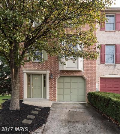 Frederick Townhouse For Sale: 8018 Hollow Reed Court