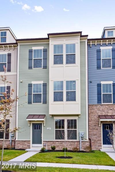 Frederick MD Townhouse For Sale: $327,570
